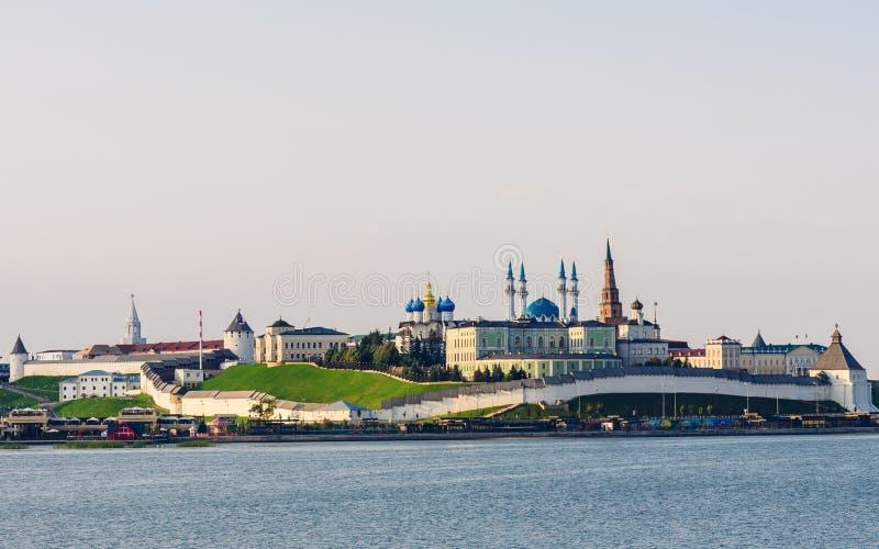 Widok Kazan Kremlin obrazy stock