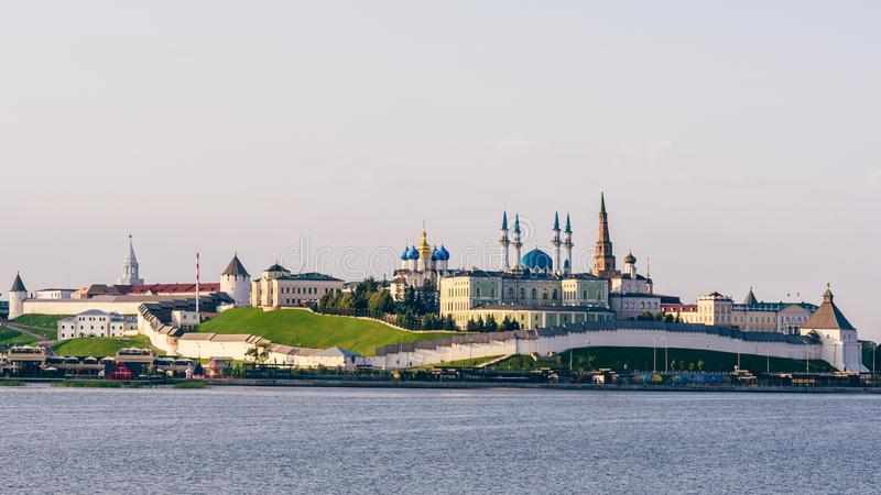 Widok Kazan Kremlin fotografia royalty free