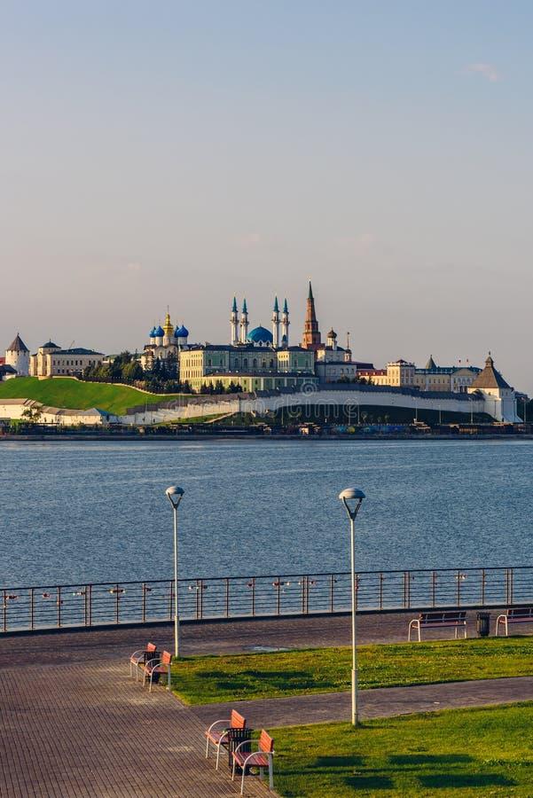 Widok Kazan Kremlin obrazy royalty free