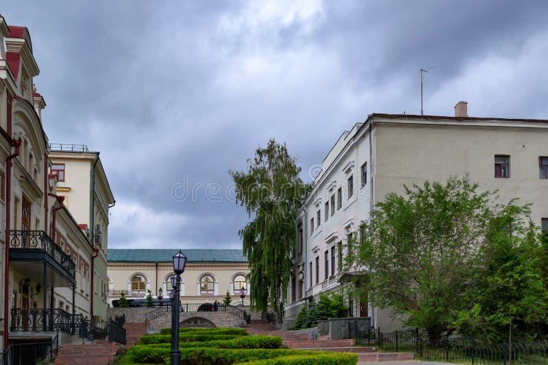 Widok Kazan ulicy zdjęcie royalty free