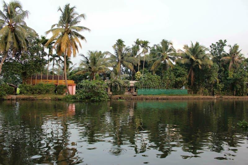 Widok Kerela (India) obraz royalty free