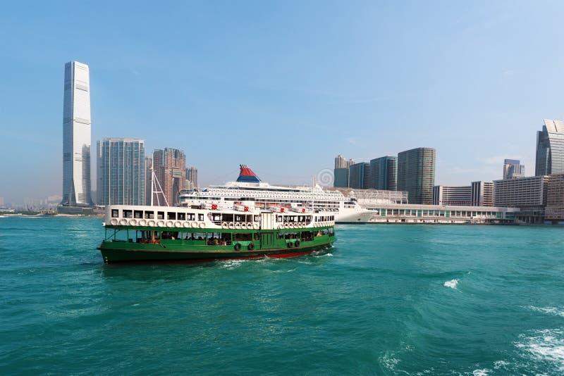 Widok Kowloon Hong Kong fotografia royalty free