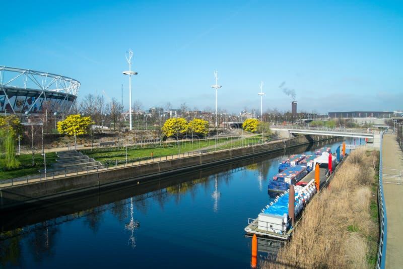 Widok królowej Elizabeth Olimpijski park obraz stock