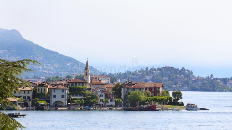 Widok Lago Maggiore zdjęcia stock
