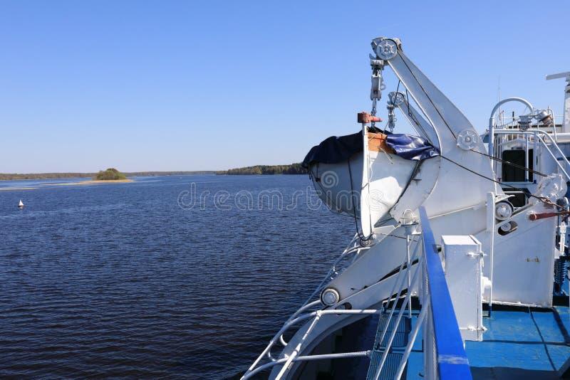 Widok Lifeboat obraz stock
