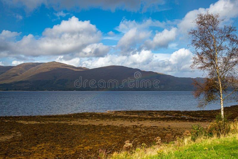 Widok Loch Linnhe zdjęcie royalty free