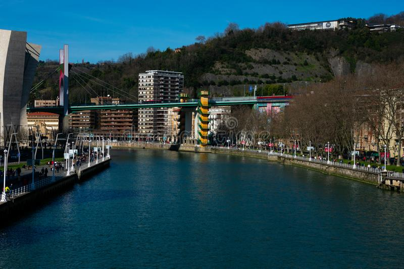 Widok losu angeles Salve most Puente De Los angeles Salve fotografia stock