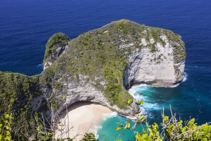 Widok manty, Nusa Penida w Indonezja fotografia royalty free