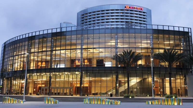 Widok Marriott markiza San Diego Marina obrazy royalty free