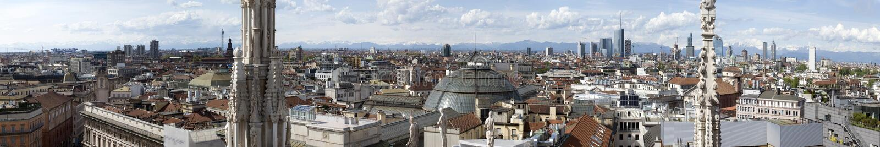 Widok Mediolan zdjęcia stock