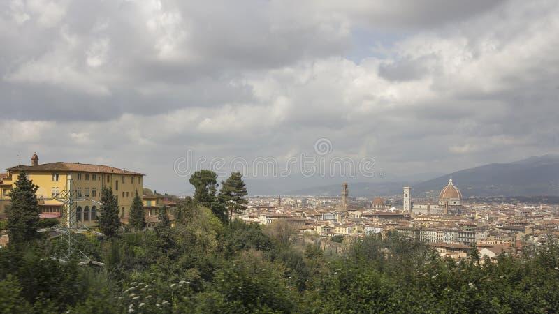 Widok miasto Florencja obrazy royalty free