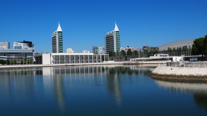 Widok miasto Lisbon miejsca w Portugalia i colours fotografia royalty free