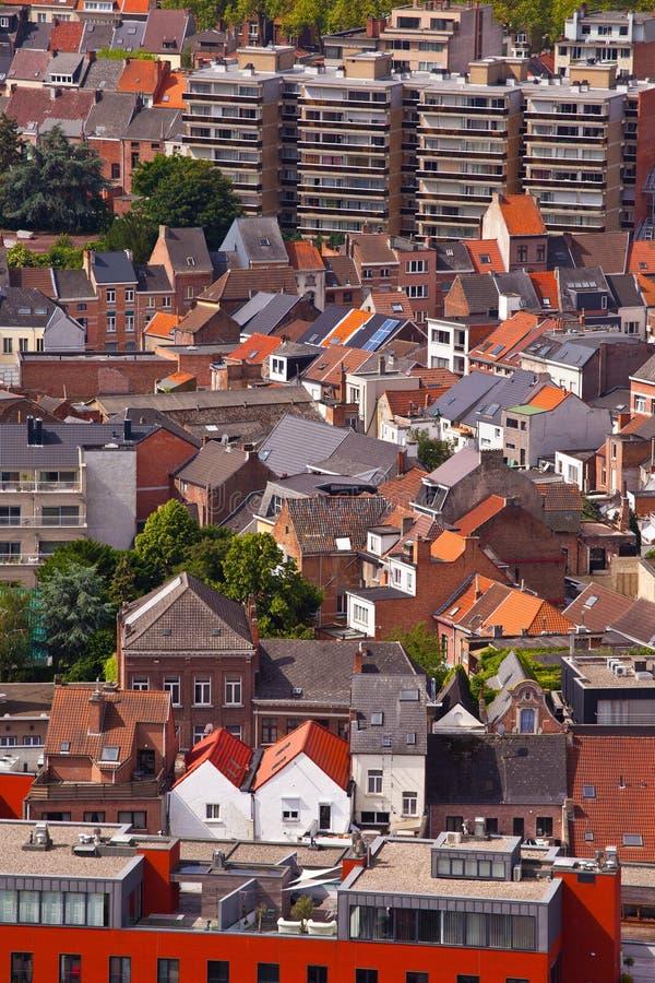 Widok miasto Malines (Mechelen) obrazy stock