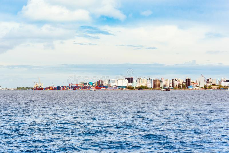 Widok miasto samiec obrazy stock