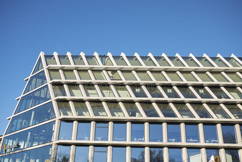 Widok Microsoft budynek zdjęcie stock