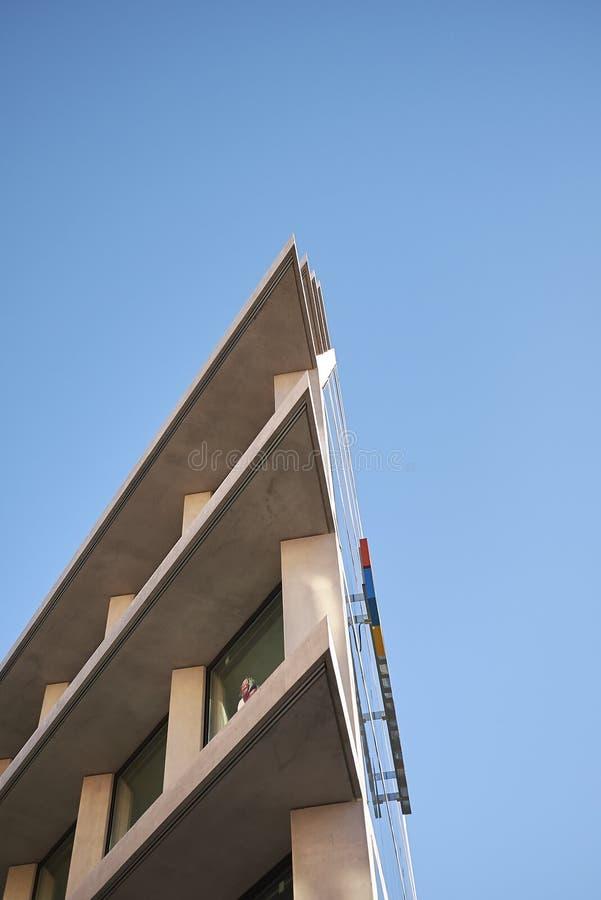 Widok Microsoft budynek obrazy stock