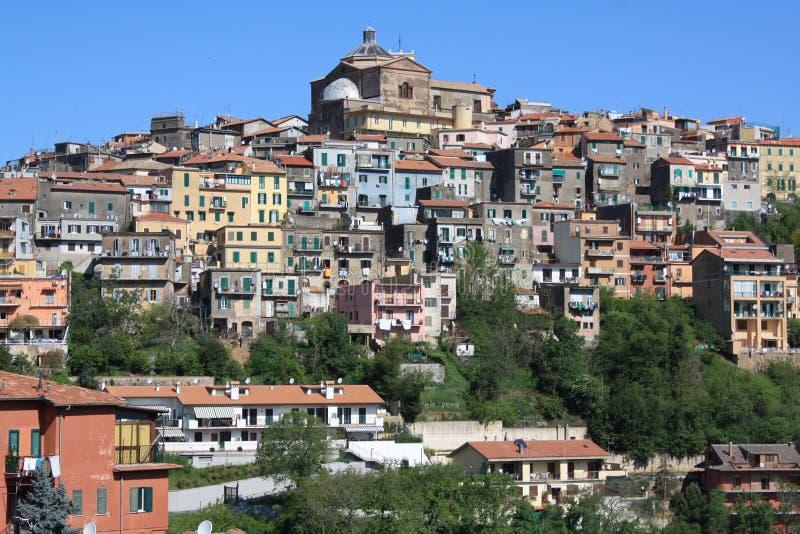 Widok Montecompatri (Rzym Włochy,) obrazy stock