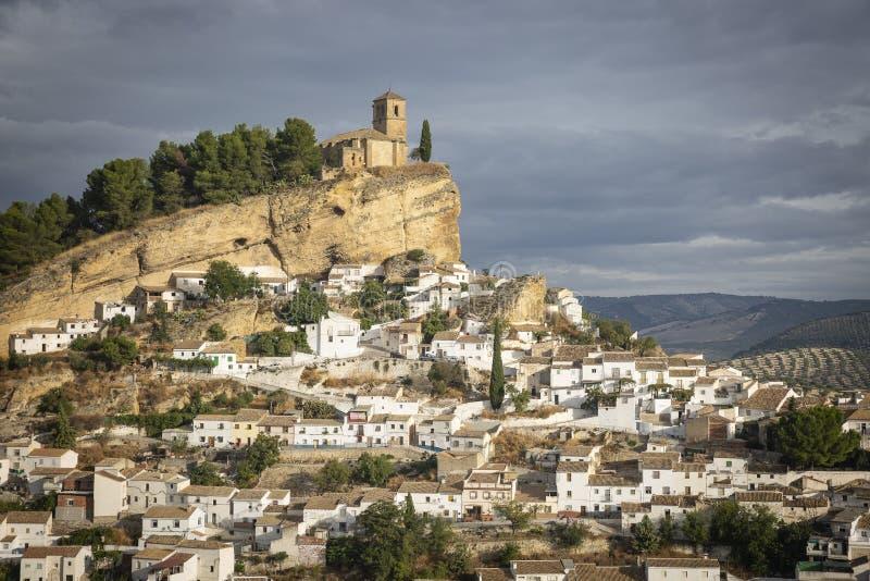 Widok Montefrio miasteczko obrazy royalty free