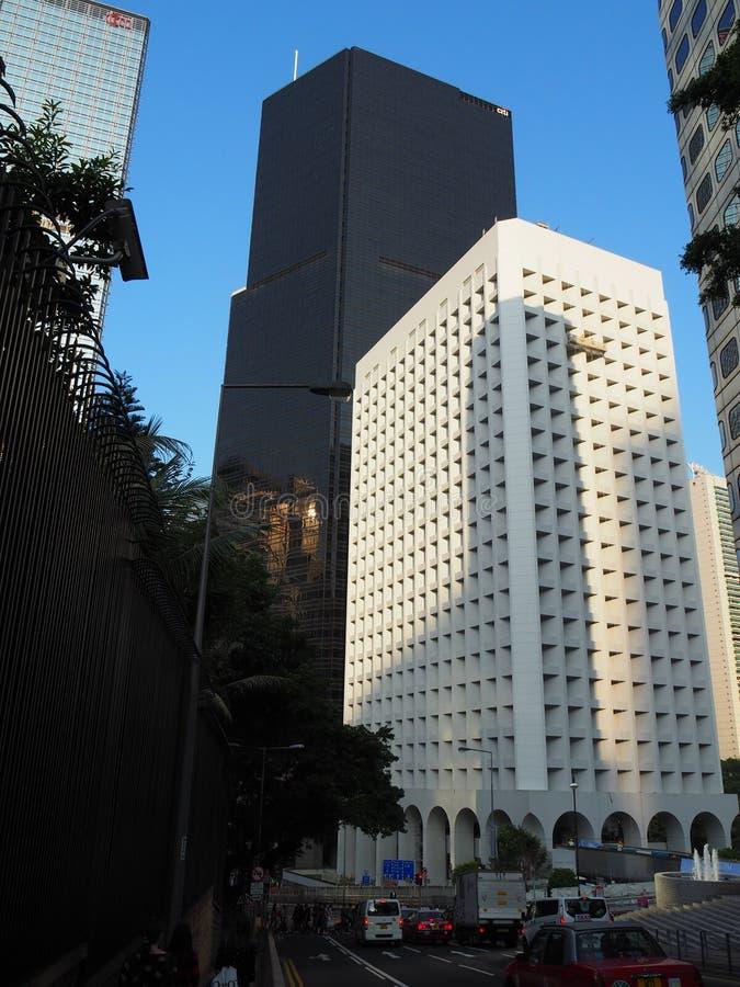 Widok Murray budynek Trzy Ogrodowa droga i, centrala zdjęcie royalty free