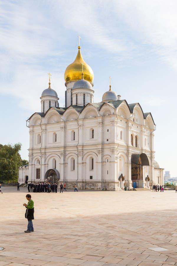 Widok muzeum Moskwa Kremlin, Moskwa, Rosja obraz royalty free