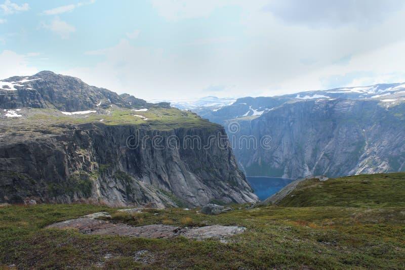Widok na górach zdjęcia stock