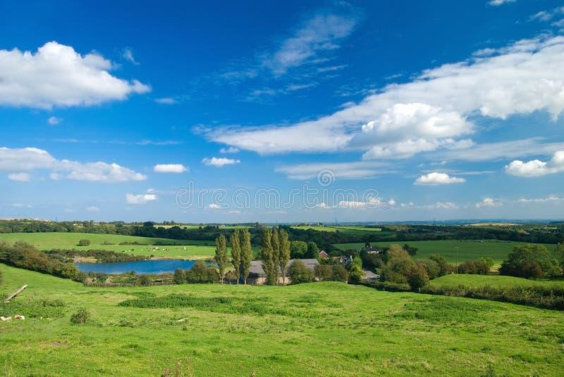 widok na obszarach wiejskich zdjęcia royalty free