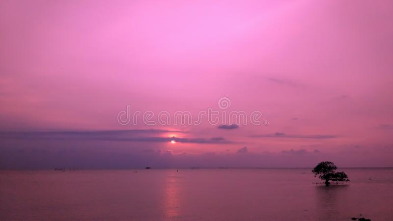 Widok na ocean zdjęcia stock