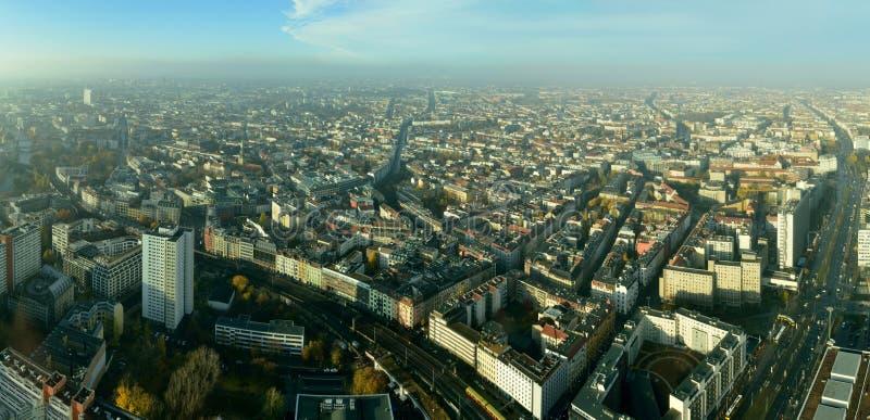 Widok nad Berlin, Niemcy zdjęcie royalty free