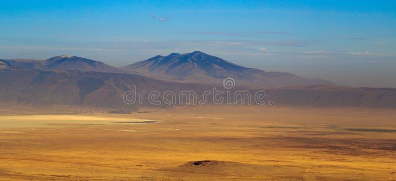 Widok Ngorongoro krater fotografia stock