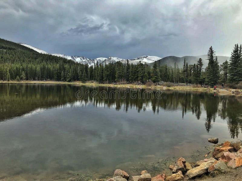 Widok niektóre Kolorado góry zdjęcie stock