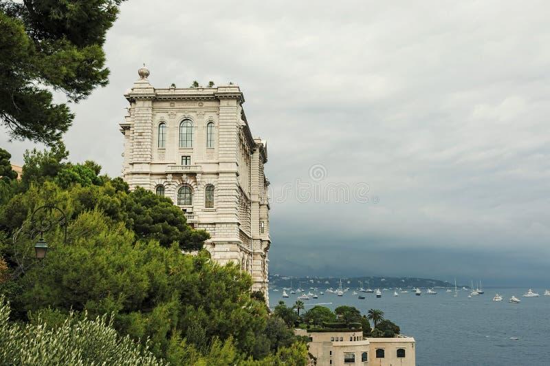 Widok Oceanograficzny muzeum fotografia royalty free