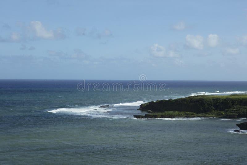 widok oceanu spokojnego zdjęcia stock