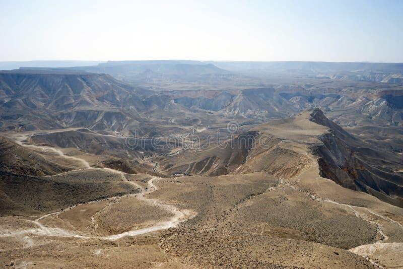 Widok od Akev góry obraz stock