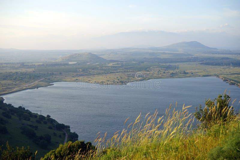 Widok od Bental góry zdjęcie stock