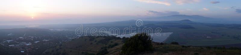 Widok od Bental góry zdjęcie royalty free