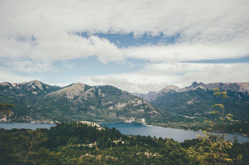 Widok od Cerro Campanario zdjęcie royalty free