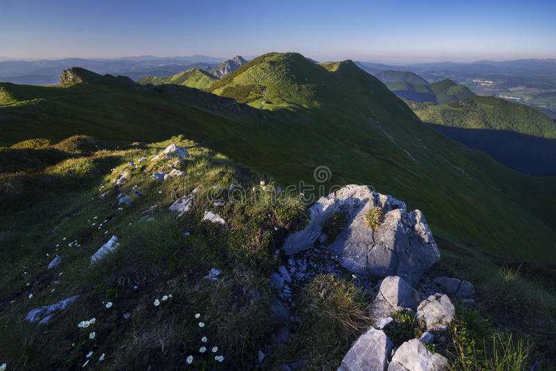 Widok od Chleb góry obraz royalty free