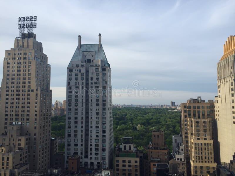 Widok od Dachowego holu tarasu zdjęcie stock