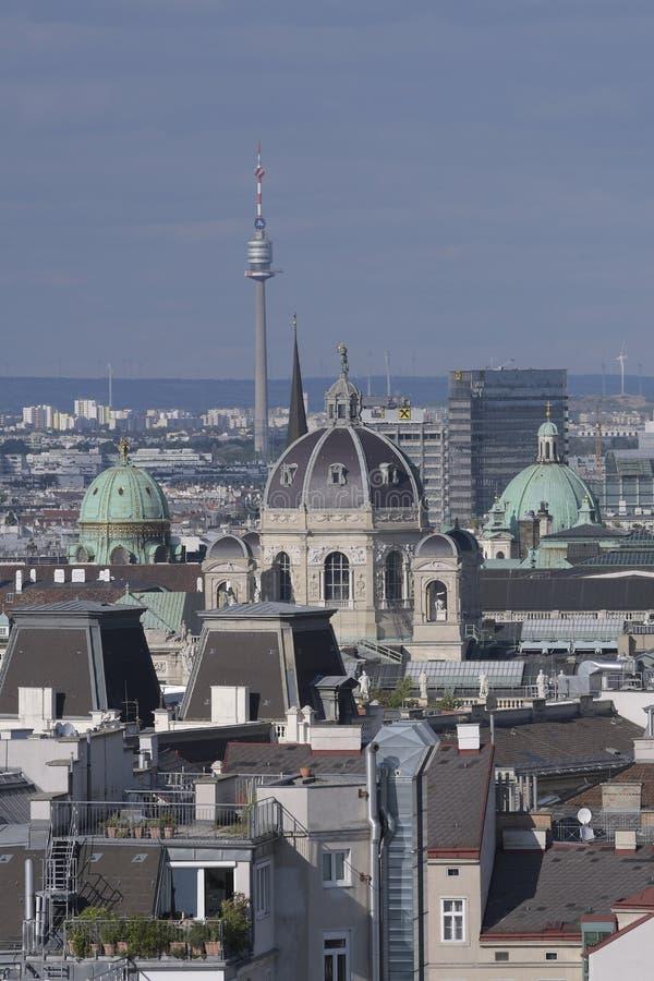 Widok od domu morze na Wiedeń obraz royalty free