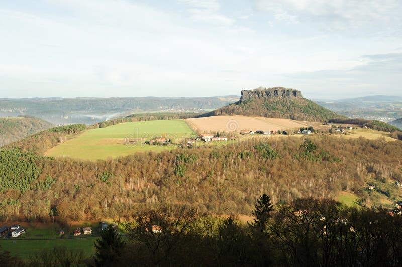 Widok od fortu zdjęcie royalty free