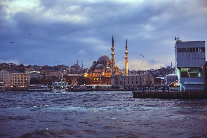 Widok od Galata w Istanbuł fotografia stock