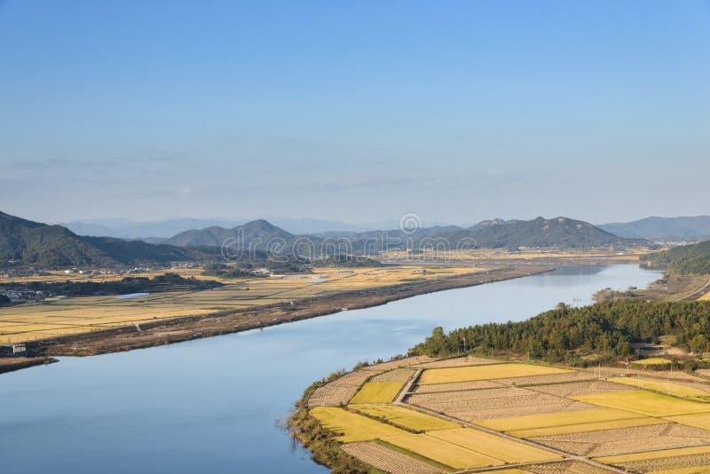Widok od Gyeongcheondae zdjęcie stock