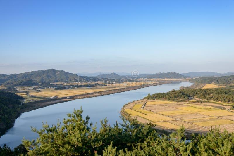 Widok od Gyeongcheondae obrazy stock