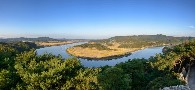 Widok od Gyeongcheondae zdjęcia stock