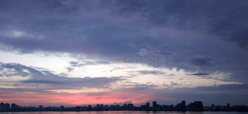 Widok od Kazan Quay fotografia stock