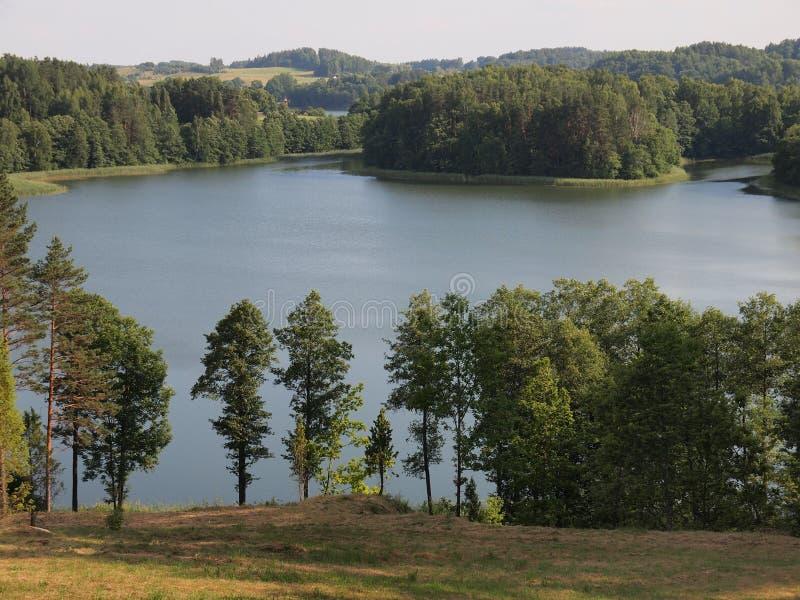 Download Widok Od Ladakalnis Wzgórza (AukÅ ¡ Taitija Park Narodowy, Lithuania) Obraz Stock - Obraz złożonej z ro, krajobraz: 57656481
