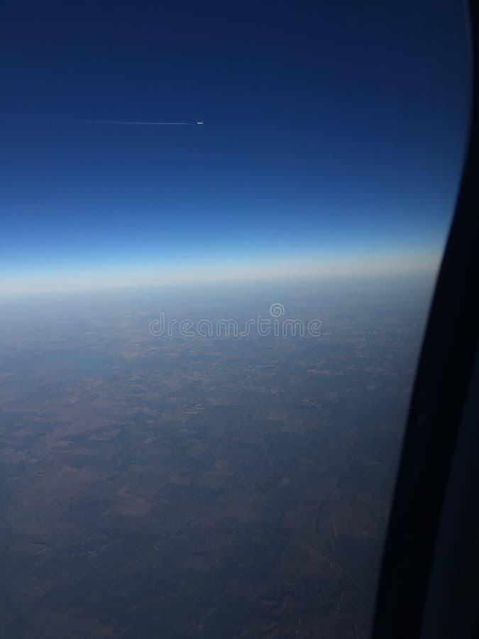 Widok od nieba obrazy royalty free