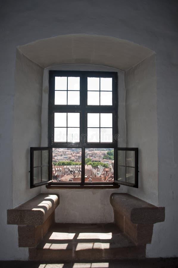 Widok od okno obraz royalty free
