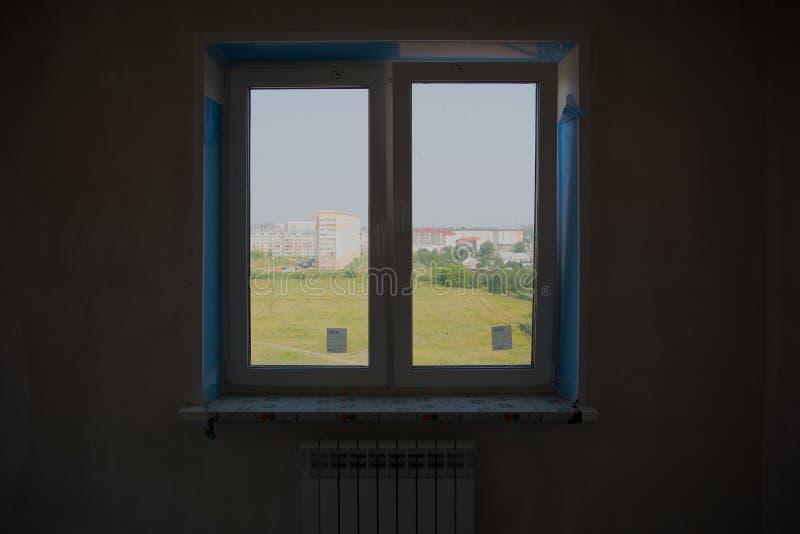 Widok od okno mieszkanie zdjęcie stock