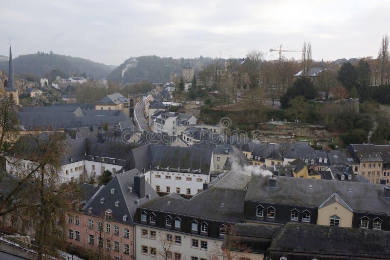 Widok od pięknego balkonu Europa obrazy royalty free